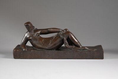 Henri Laurens, 'FEMME COUCHÉE A LA DRAPERIE ', ca. 1925