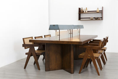 Pierre Jeanneret, 'Library table with light', ca. 1963-1964
