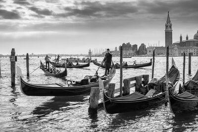 David Darby, ASC, 'Gondolas and San Giorgio, Italy', 2014