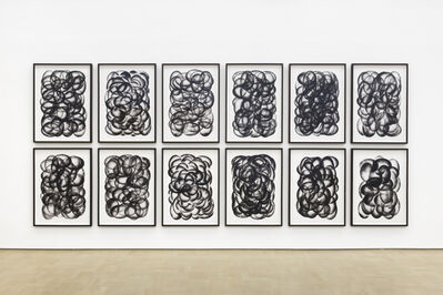 Robin Rhode, 'Paths and Fields', 2015