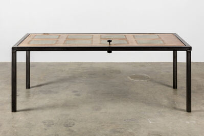 Oscar Tuazon, 'Door/Table', 2014