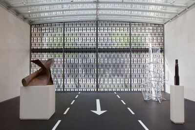 Bettina Pousttchi, 'Installation view Nasher Sculpture Center, Dallas'