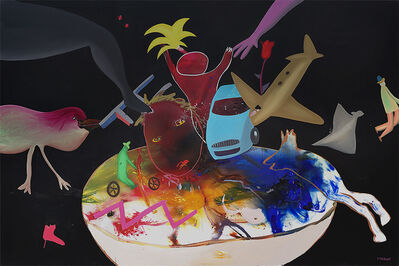 Michel Tyszblat, 'Assiette au heurt', 2007