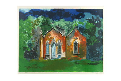 John Piper, C.H., 'The red house, Painswick'