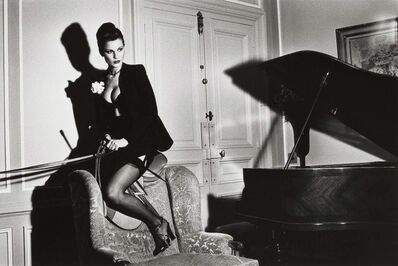 Helmut Newton, 'Saddle II, Paris', 1976