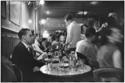 Elliott Erwitt, 'Left Bank café', 1951