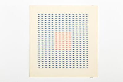Tomaso Binga, 'Typecode 4', 1978