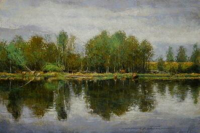 Alan Flattmann, 'Farm Pond in Spring', 2021