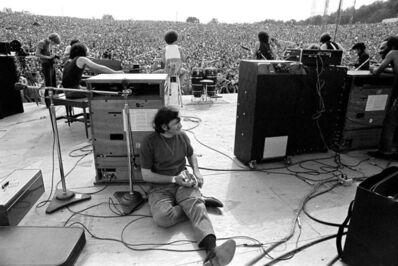 Baron Wolman, 'Woodstock 1969 Backstage', 1969