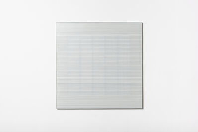 Cobi Cockburn, 'In the Vicinity of White (Grid) #5', 2018