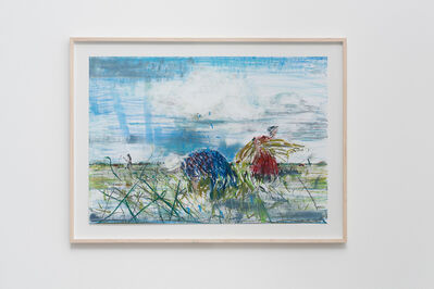 Sabine Moritz, 'Auf dem Feld I (On The Field I)', 2015