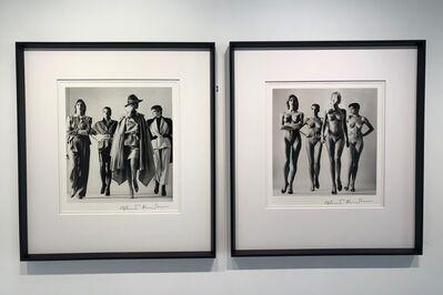 Helmut Newton, 'Sie Kommen (Pair Dressed and Nude)', 1981