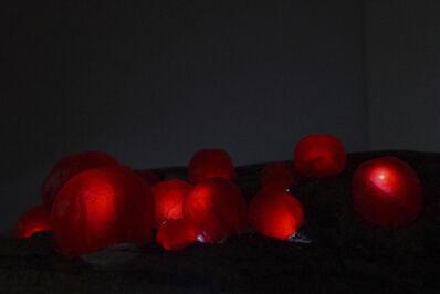Leah Harper, 'Glowing Orbs', 2020