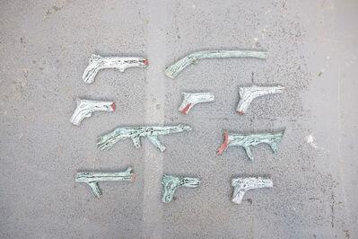Apollinaria Broche, 'Pistolets', 2017