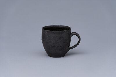 Yoshinori Hagiwara, 'Mug, matte black glaze', 2020