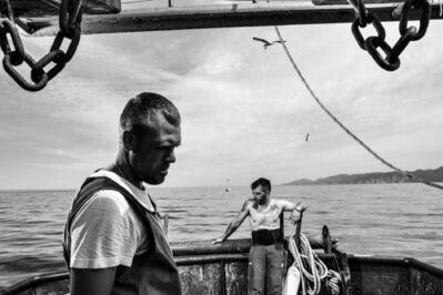 Francesco Zizola, 'Coming Home, Porto Paglia, Sardinia ', 2017