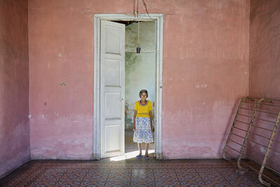 Jeffrey Milstein, 'Woman in Door, Trinidad Cuba', 2004