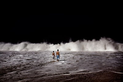 Francesco Zizola, 'Wave (Beach Story)', 2008