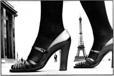 Frank Horvat, 'Paris Shoe and Eiffel Tower A,', 1974
