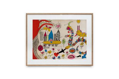 Niki de Saint Phalle, 'Rêve d'une jeune fille', ca. 1970