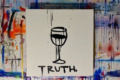 Gregory Siff, 'Element #18 - Truth (dark purple)', 2018