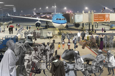 Canon Griffin, 'All these Travellers', 2019