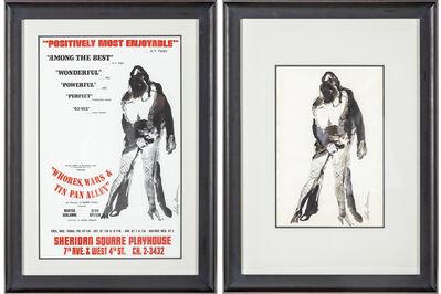 LeRoy Neiman, 'Alvin Epstein Wars Whores & Tin Pan Alley', 1969