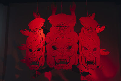James Ping Wei Tseng, 'Three Head Asura', 2019