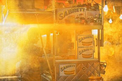 Mitchell Funk, 'Sabrett hot dogs Manhattan', 2008