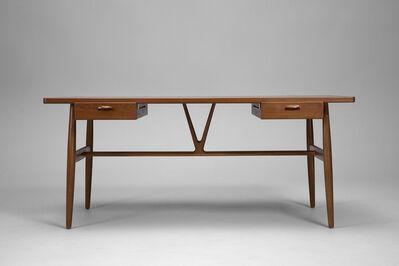 Hans J. Wegner, ''Wishbone' Desk, Model no. JH 563', ca. 1950
