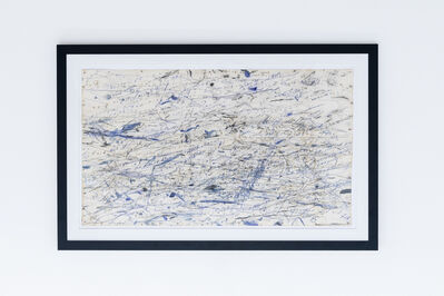 Peter Matthews, '11 Hours In and With the Atlantic Ocean (England) (framed)', 2016
