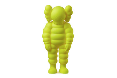 KAWS, 'WHAT PARTY (Yellow)', 2020