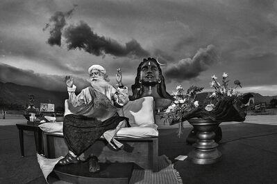 Raghu Rai, 'Sadguru Jaggi Vasudev- Coimbatore', 2017