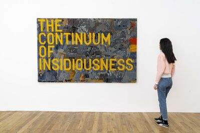 Rirkrit Tiravanija, 'Untitled 2020 (the continuum of insidiousness) (map, 1963)', 2020