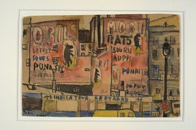José Gurvich, 'Escena de París', 1954