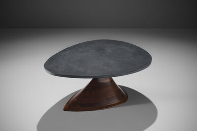 Phillip Lloyd Powell, 'Phillip Lloyd Powell Walnut and Slate Coffee Table', ca. 1960