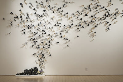 Bradley Sabin, 'Floral Wall (3 sets on display)', 2017