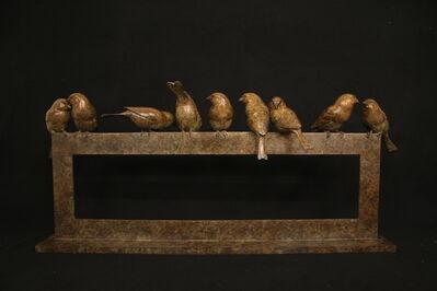 Adam Binder, 'Nine Sparrows', 2016