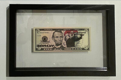 Banksy, 'Lincoln, DIsmaland', 2015