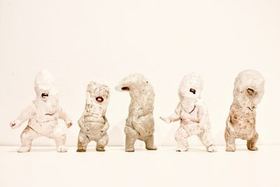 Kenjiro Kitade, 'Infant Terrible W#20, W#12, W#11, W#21, W#8', 2017