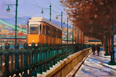Jonelle Summerfield, 'Streetcar in Budapest', 2018
