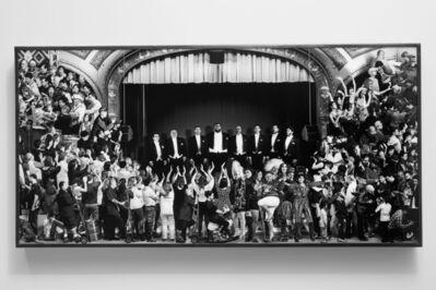 JR, 'The Chronicles of San Francisco, Theater, Lightbox, USA', 2018