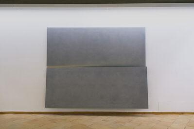 Ettore Spalletti, 'Grigio oro, orizzonte', 2016