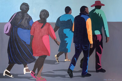 Shakes Tembani, '3 Ladies and 2 Men', 2019