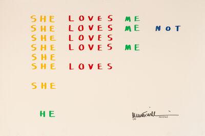 Emmett Williams, 'She loves me not (deluxe edition)', 1966-1983
