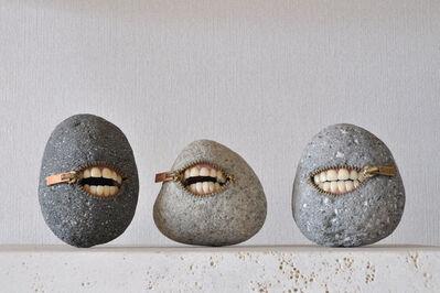 Hirotoshi Ito, 'Laughing Stone Trio', 2017