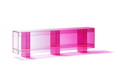 Studio BUZAO, 'NULL Hot Pink Low Shelf', 2020