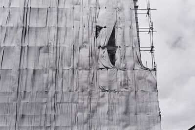 Virginia Coventry, 'Wall Under Construction', 1976
