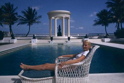 Slim Aarons, 'C.Z.Guest, Villa Artemis, Palm Beach, 1955 ', 1955