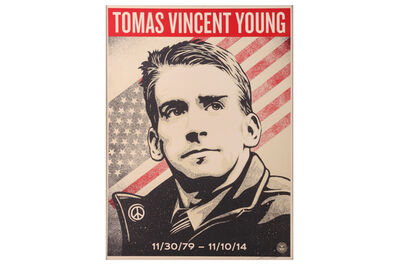 Shepard Fairey, 'Tomas Vincent Young', 2017